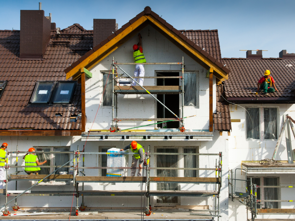 rehabilitación fachada particulares